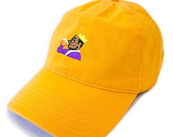 timeless design 84208 63332 KING JAMES LEBRON, Lakers Cap, Purple and Gold, Lebron James Dad Hat