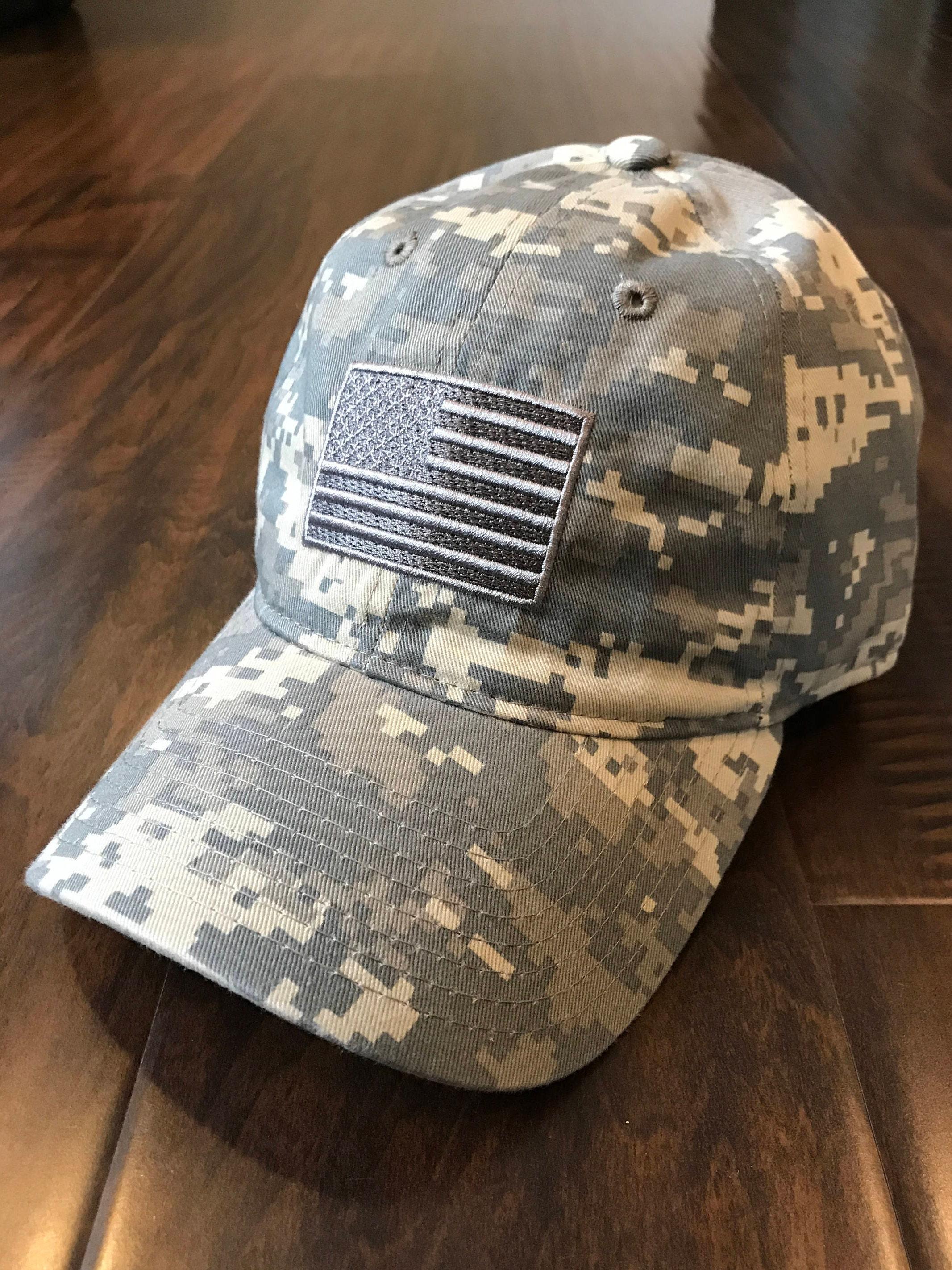 8507fe7743e10 ARMY ACU Digital Camouflage Desert Storm USA American Flag