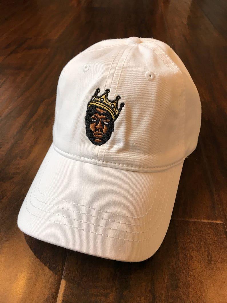 BIGGIE CAP Hip-Hop Legendary Icon Notorious BIG embroidery Dad  25e403c3d34
