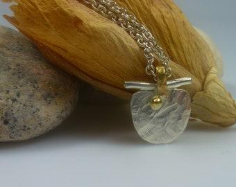 bicolor, necklace.