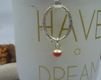 small red coral pearl.