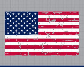 4th of July svg, US flag svg, distressed flag svg, grunge flag svg, american flag svg, USA flag, cricut silhouette, svg, eps, dxf, png, jpg