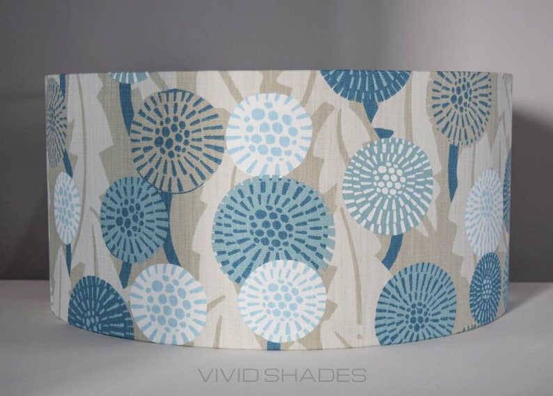 My Name Is Shade.Lampshade Scandinavian Fabric Handmade By Vivid Shades Funky Etsy