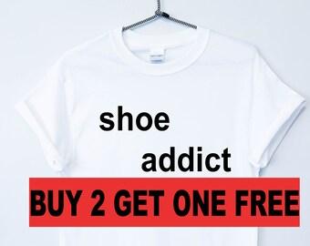 cf5be8c59ac9e5 Shoe Addict Tshirt Top