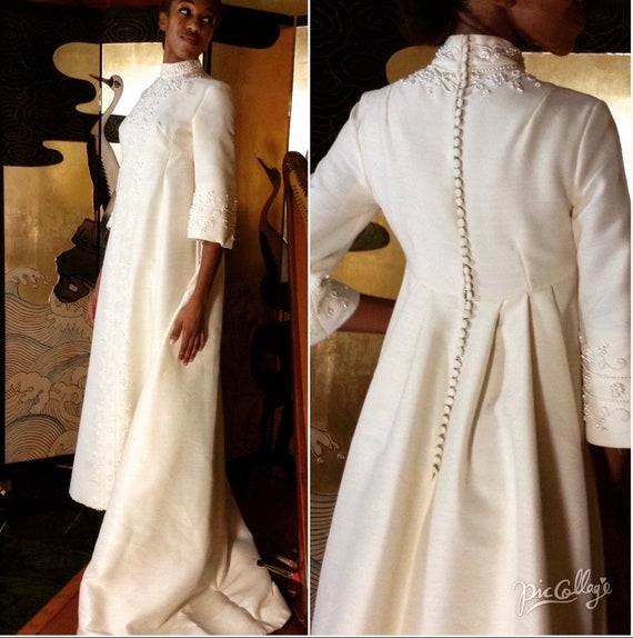 1960's Bianchi Wedding Gown
