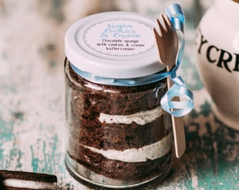 Vegan Cake Jar