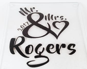 Personalized Cutting | Custom Cutting Board | Personalized Wedding | Personalized Gift | Wedding Gift | Anniversary Gift | Engagement Gift |