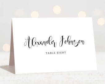 Wedding Place Cards Etsy