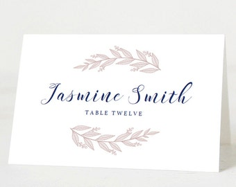 wedding seating cards wedding name cards folded place cards editable template escort card template name card printable wedding place card