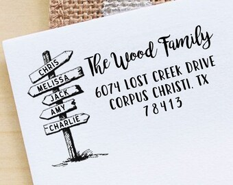 family stamp etsy