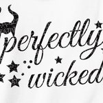 Perfectly wicked SVG halloween svg, fall svg, theme park, shirts with sayings svg women stamps iron on stencil svg files cricut #ts-103