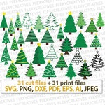 Christmas tree svg, Xmas trees vector, Christmas tree svg, Bundle SET, New Year svg, Winter Svg commercial use svg files for cricut #vc-231