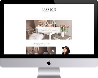 Blogger Template Pography   Blogger Template Etsy