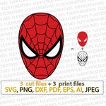 Spiderman Vector, Clipart, Cut File, Spiderman Shirt Clip Art, Spiderman Cricut SVG, Spiderman png, DXF, pdf, EPS FlexyCreatives  #vc-22