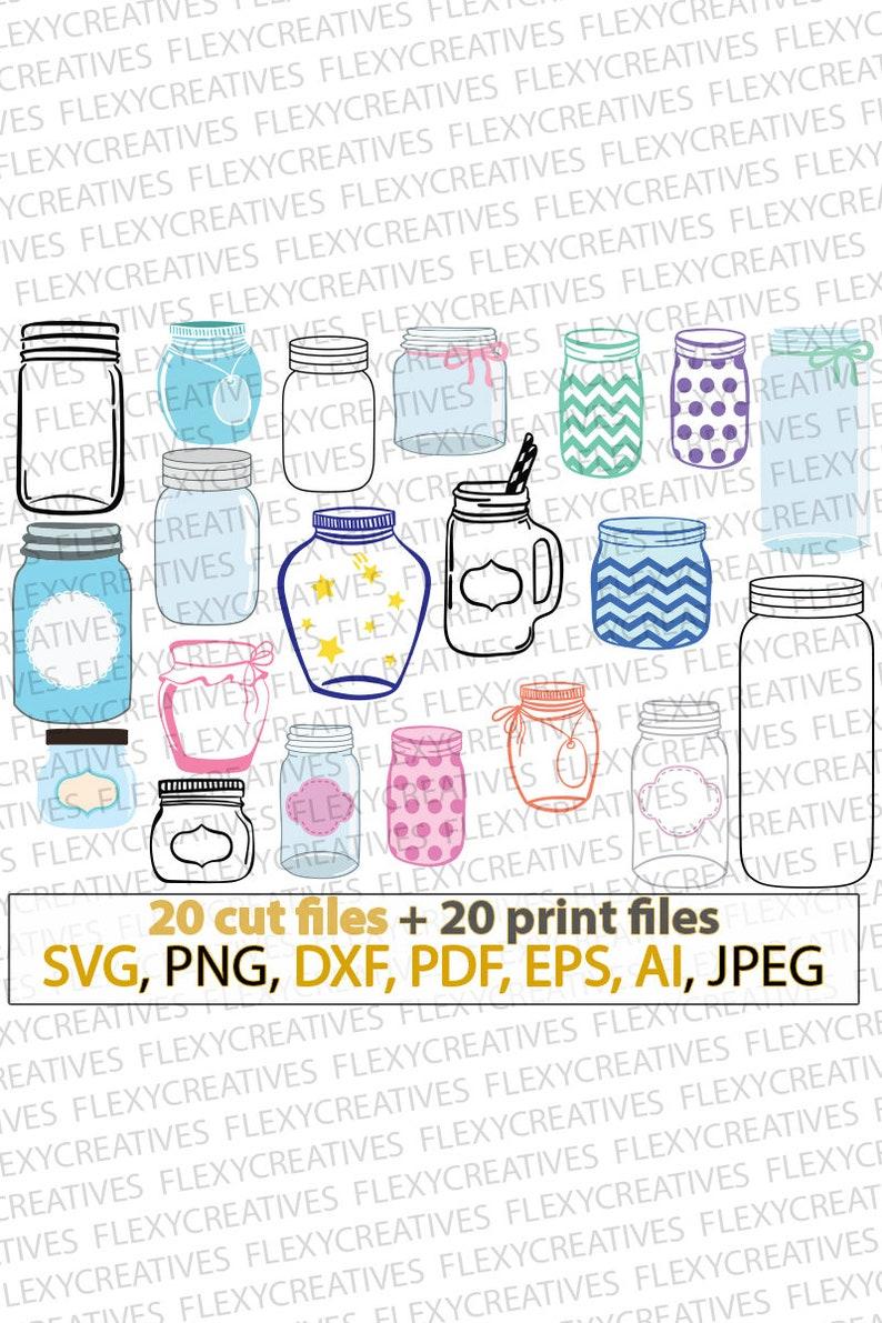 Mason jar SVG bundle mason jars SVG personalized mason jar image 0