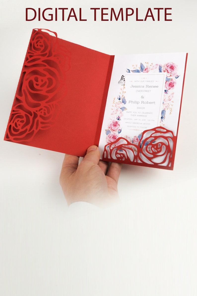 Budget Savvy Wedding Party Invitations SVG Cricut silhouette image 0