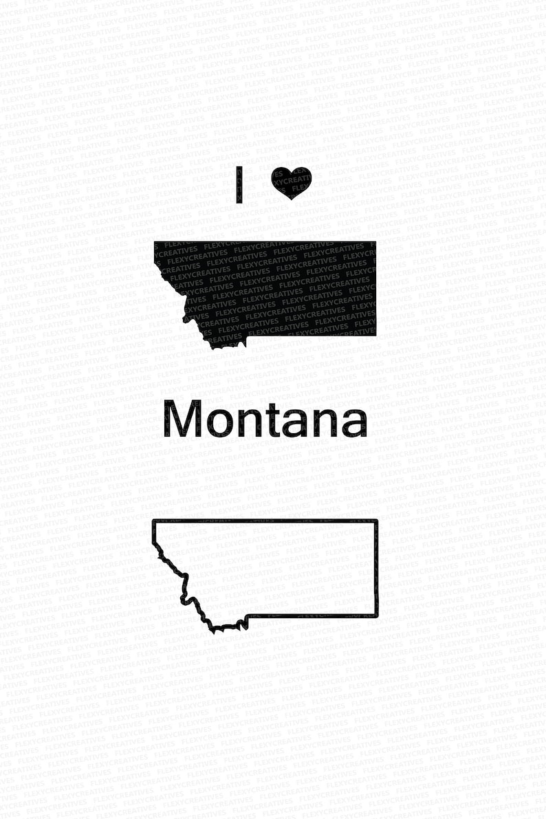 Montana Vector State png EPS #mp-5 DXF State Clipart pdf Montana Clip Art Montana Map Clip art SVG