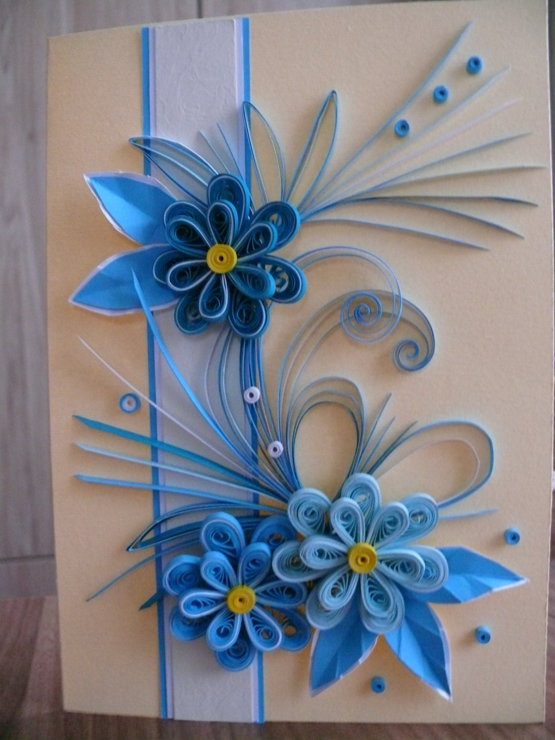 Quilling Card birthday card Greeting Card Quilling ...