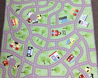 Car Play Mat Etsy