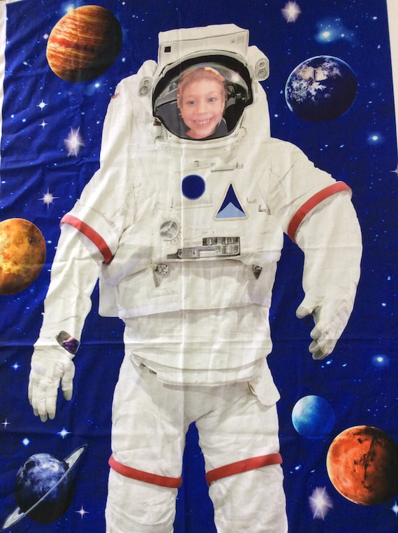 Customized Astronaut Panel --Add Child's Photo Across the Universe Northcott