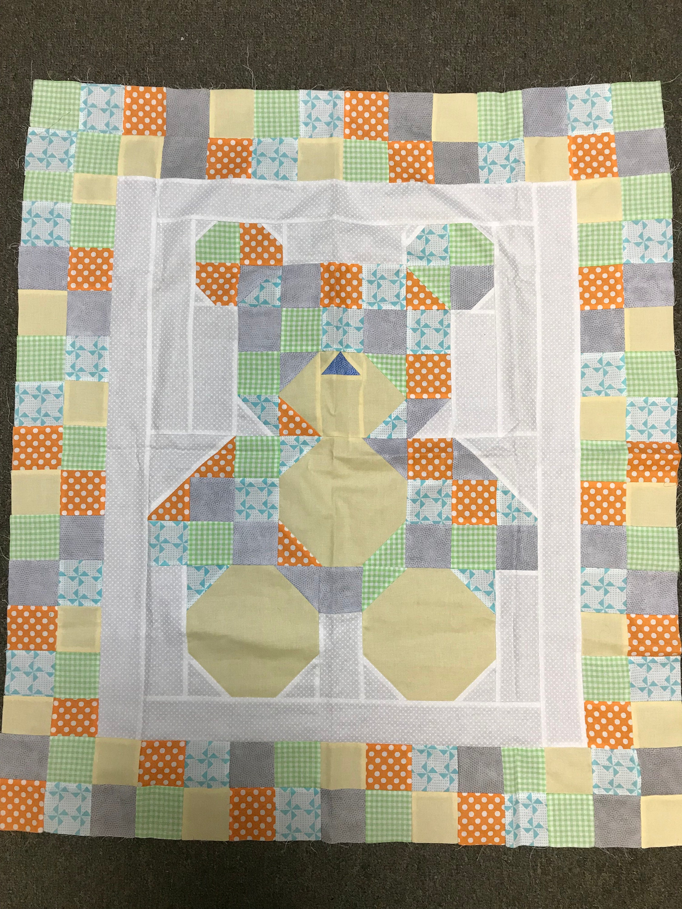 Fat Quarter Baby Quilt Book And Teddy Bear Quilt Kit