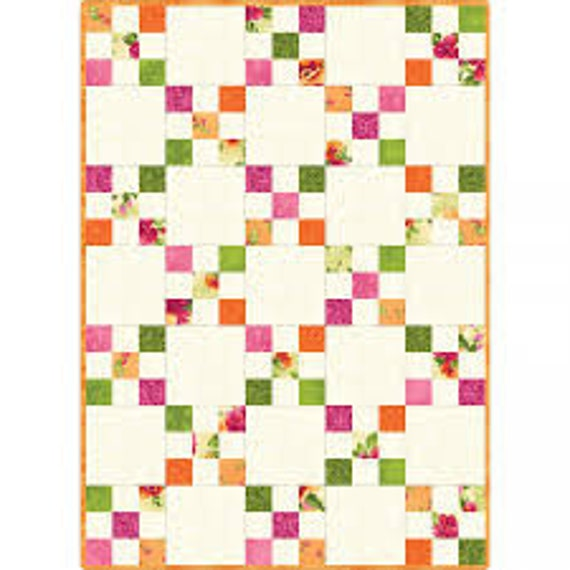 Irish Chain Quilt Kit POD Maywood Studio PRECUT