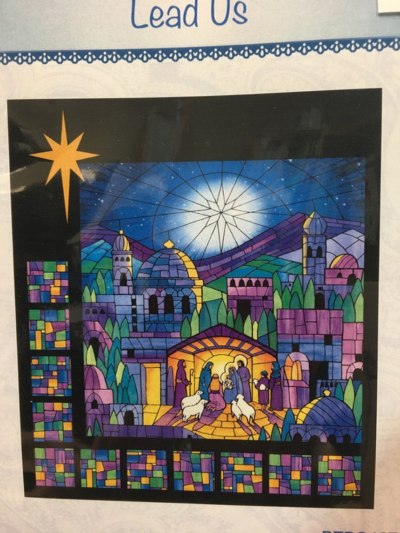 "Nativity pattern ""O Holy Night"" Lead Us"