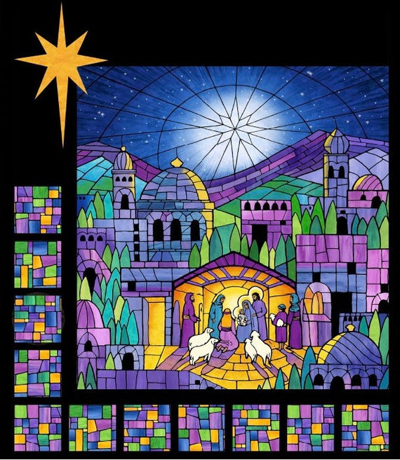 Northcott Nativity Quilt Kit O Holy Night