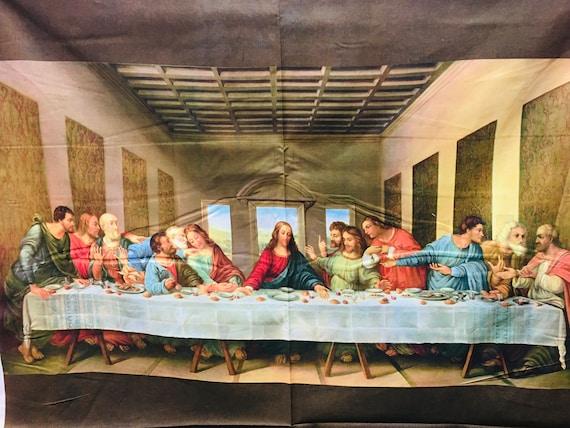 Last Supper Panel Da Vinci One Block Wonder