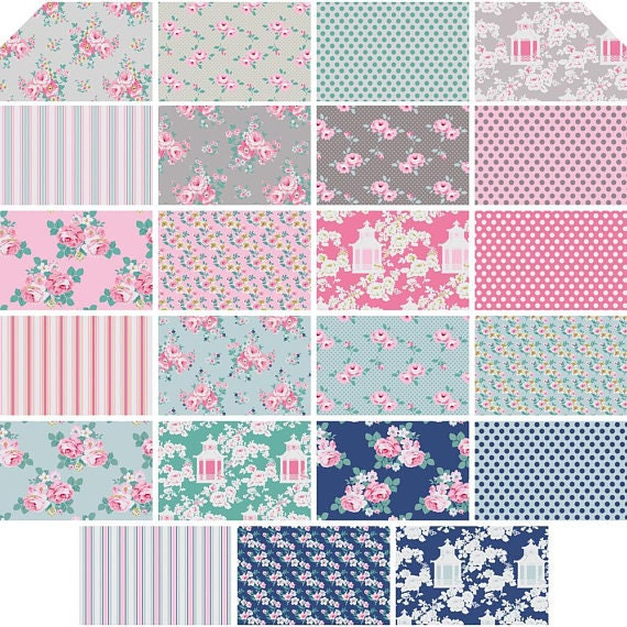 Tonya Whelan-Gazebo 40piece Design Roll Shabby Sheek Fabric FB3DRTW.Q417X