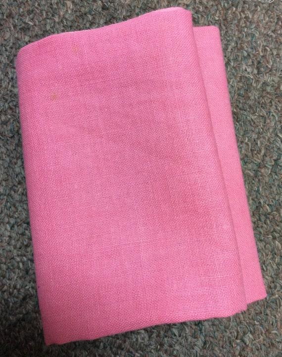 Vintage 1920's Feedsack Bubblegum Pink  Fat Quarters