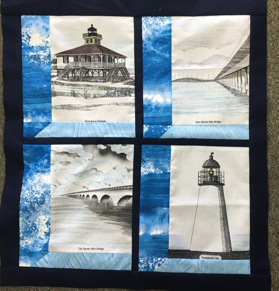 Quilters Trek 2020 Row By Row Florida Lighthouse Bridges Shop Hop Attic Window