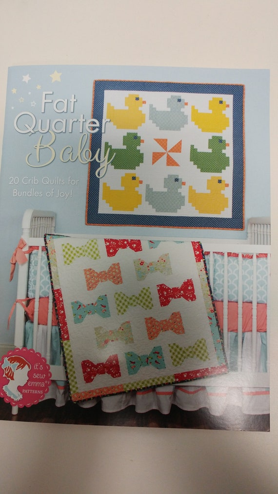 Fat Quarter Baby Patterns Book 20 Crib Quilts for Bundles of Joy!!