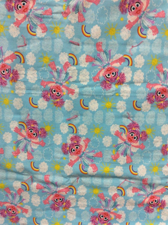Abby Cadabby Baby Comforter Pink Blue Rainbow Super Soft Baby Blanket