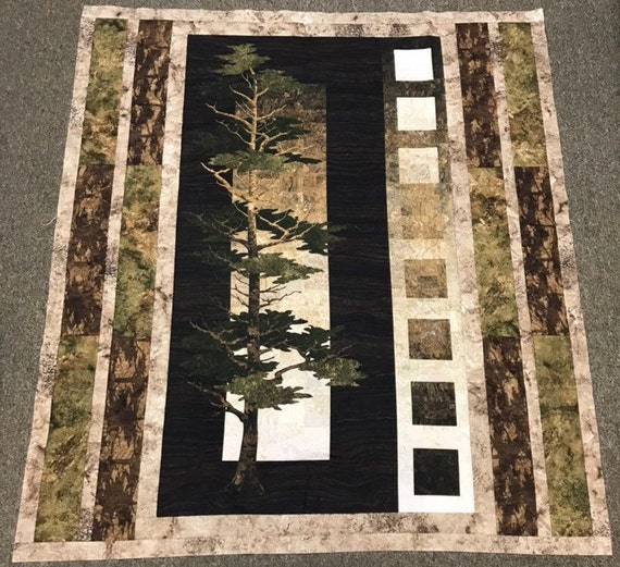 Majestic Pines Pattern 2374 Quilt Kit, Quilt Top, or Finished Quilt