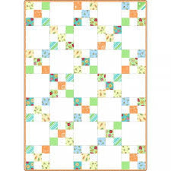 Lil Sprouts Irish Chain Quilt Kit by Maywood Studio