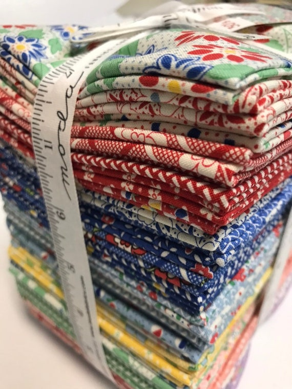 30's Playtime 2018 Chloe's Closet set of 35 Fat Quarter Bundle by Moda