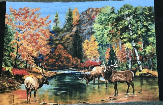 The Elk Gathering by Katherine Gardner