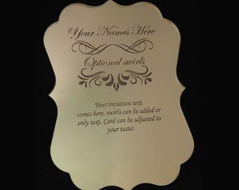Bruiloft Uitnodigingen Etsy Nl