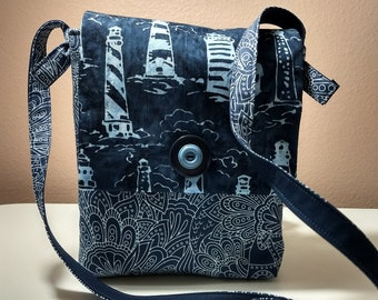 Lighthouse Mini Messenger Bag
