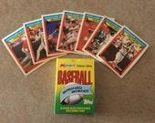 1988 Topps KMART Baseball Memorable Moments Card Set Ryan Brett Rose