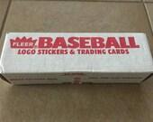 1991 Fleer Baseball Complete Set