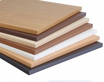 Oak Laminate Desk Top, Table Top Only, Wood Top, Top Surface Only. Ultra Durable Wilsonart Laminates. Free shipping