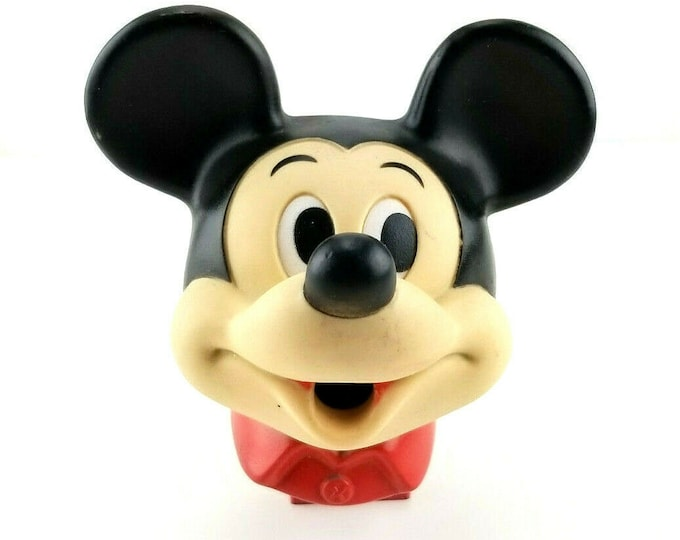 Vintage Hasbro Mickey Mouse Chompers Disney Pencil Sharpener