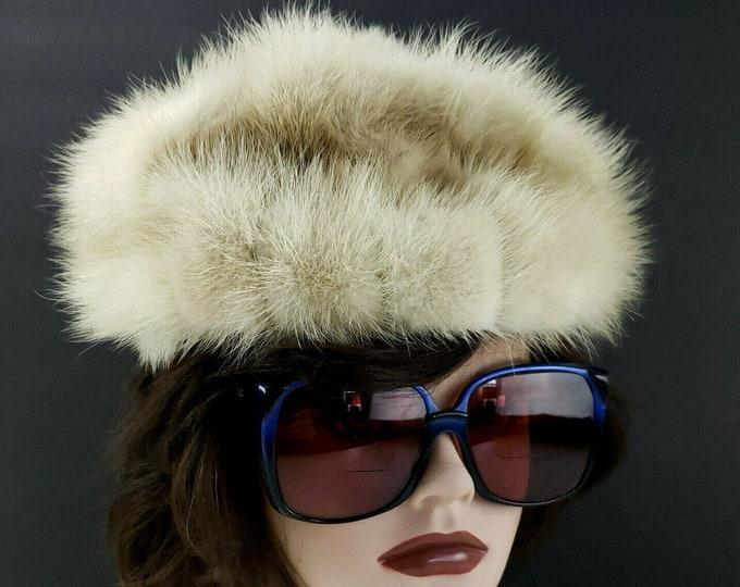 Vintage Ladies Mr Martin Fur Women's Pillbox Hat
