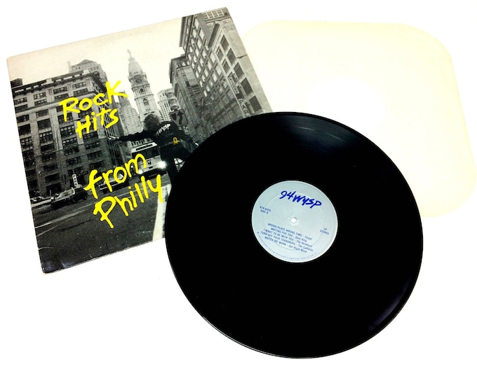 1983 94WYSP Rock Hits from Philly Starstream Vinyl LP Record Album RTR-8359