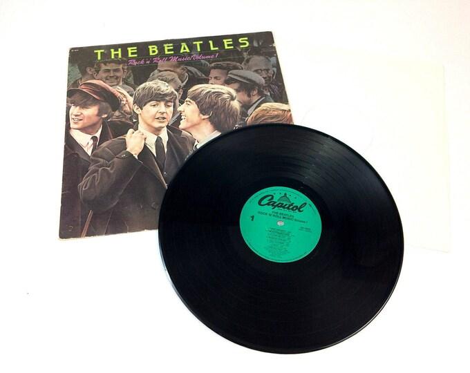 Beatles Rock N Roll Music Volume One Capitol Vinyl LP Record Album SN-16020
