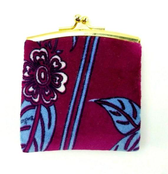 Vintage Emilio Pucci Purple/Blue Floral Print Velv