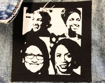 The Squad Small Patch / AOC Patch / Future Female / The Resistance / Feel The Bern / Gift For Her