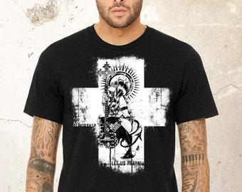 Guitar shirt, Graphic tees, Alternative Clothing, Heavy Metal shirt, Graphic Music Tee